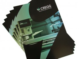 New corporate brochure for CREGG Logistics