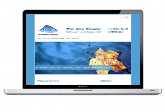 ECOS Environmental Consultants – Website