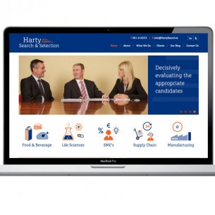 Harty Search & Selection – Website