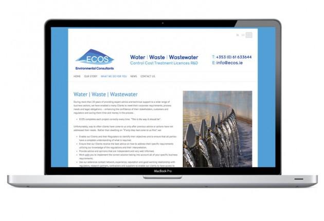 ECOS Environmental Consultants – Website