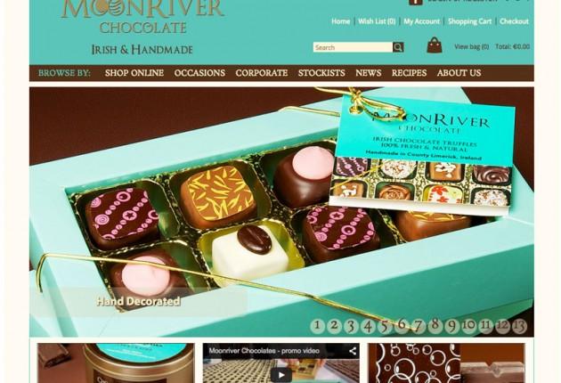 MoonRiver Chocolate – Website