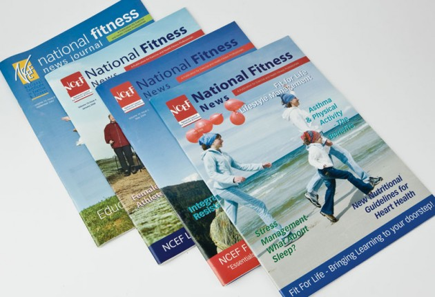 NCEF National Council for Exercise & Fitness, Accredited by the University of Limerick – Print Design