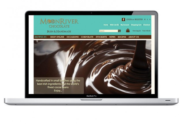 MoonRiver Chocolate – Website