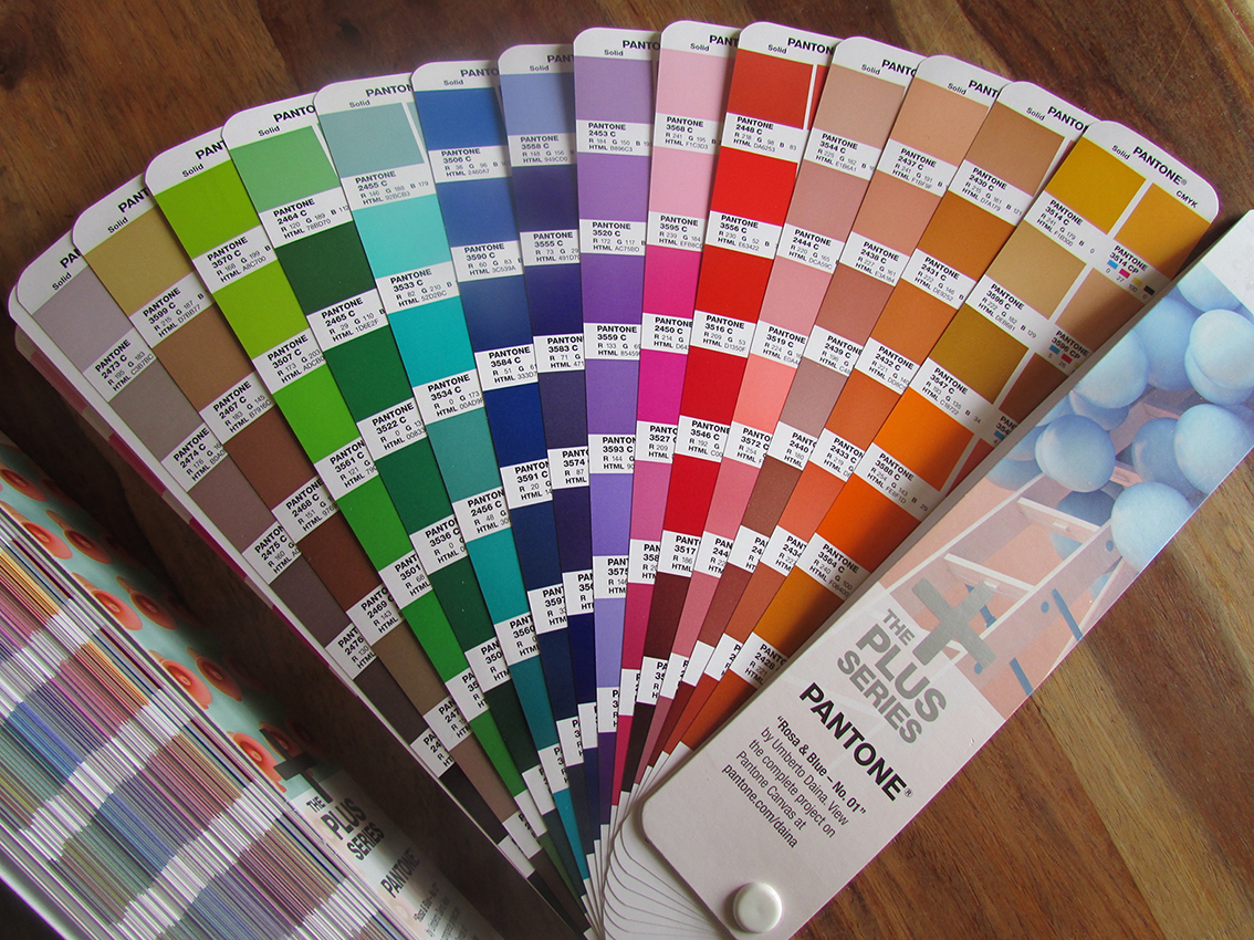 New Pantone Guides for graphic designers